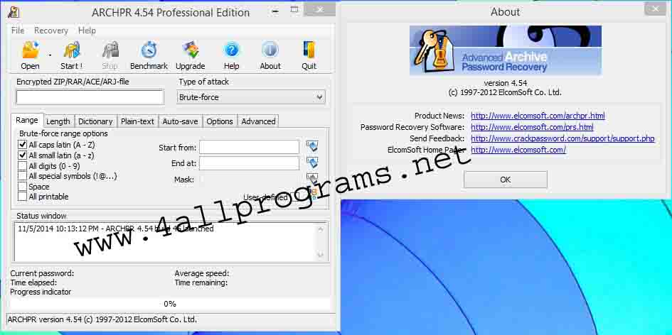 Advanced Archive Password Recovery v4.54 Full Serial | All ...