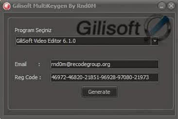 GiliSoft All Products Universal Keygen Activator  All Programs