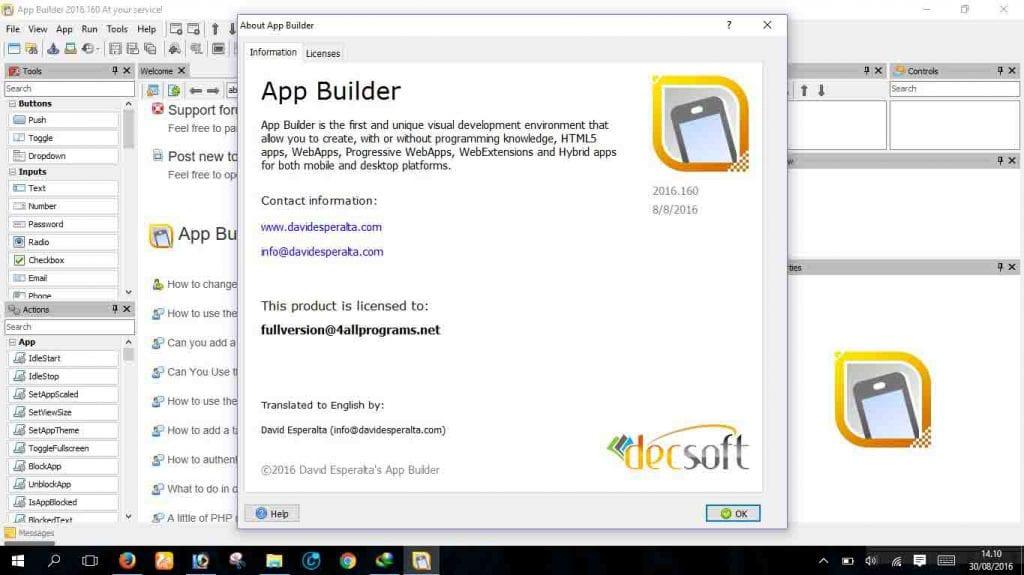 App Builder SS